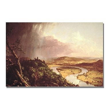 Trademark Fine Art Thomas Cole 'The Oxbow' Canvas Art