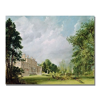 Trademark Fine Art John Constable 'Malvern Hall' Canvas Art