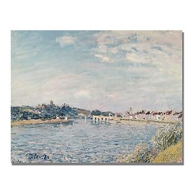 Trademark Fine Art Alfred Sisley 'Landscape 1888' Canvas Art