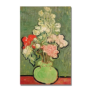 Trademark Fine Art Vincent Van Gogh 'Bouquet of Flowers' Canvas Art