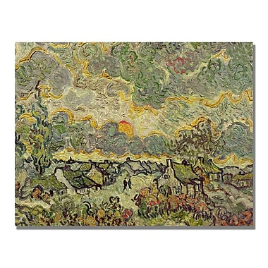 Trademark Fine Art Vincent Van Gogh 'Autumn Landscape' Canvas Art