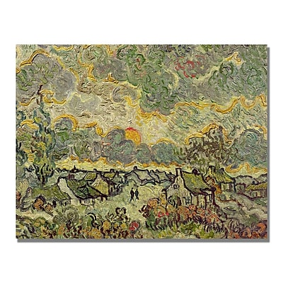 Trademark Fine Art Vincent Van Gogh 'Autumn Landscape' Canvas Art