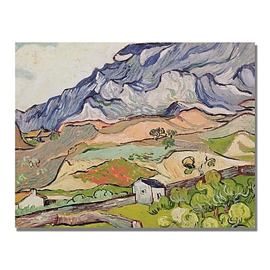 Trademark Fine Art Vincent Van Gogh 'The Alpilles' Canvas Art