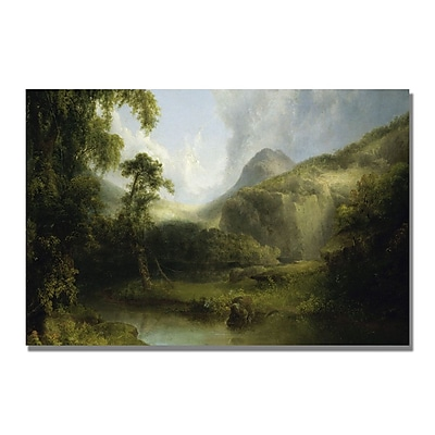 Trademark Fine Art Thomas Doughty 'Ben Lomond' Canvas Art