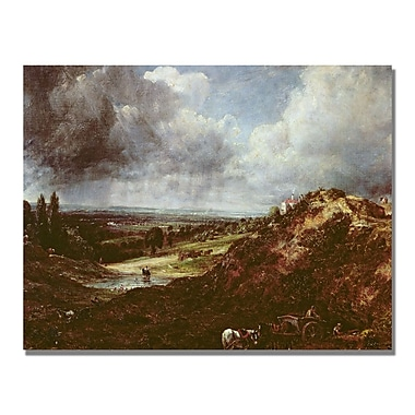 Trademark Fine Art John Constable 'Branch Hill Pond' Canvas Art