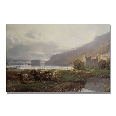 Trademark Fine Art David Farquharson 'Kilchurn Castle' Canvas Art