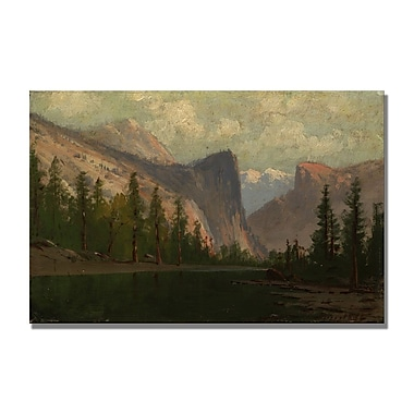 Trademark Fine Art Albert Biersdant 'Yosemite' Canvas Art