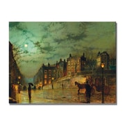 Trademark Fine Art John Grimshaw 'Hampstead Hill' Canvas Art