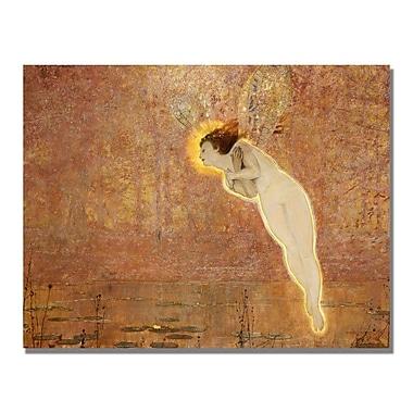 Trademark Fine Art John Grimshaw 'Iris' Canvas Art