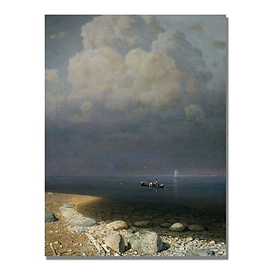 Trademark Fine Art Arkip Kuindzi 'Lake Ladoga' Canvas Art