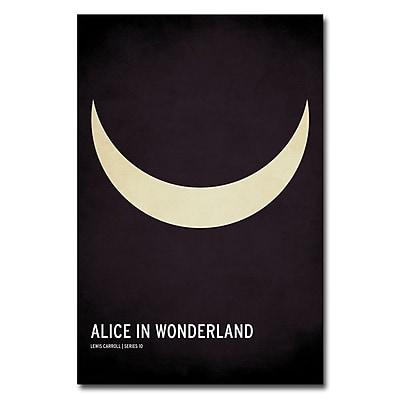 Trademark Fine Art Christian Jackson 'Alice in Wonderland' Canvas Art 24x36 Inches