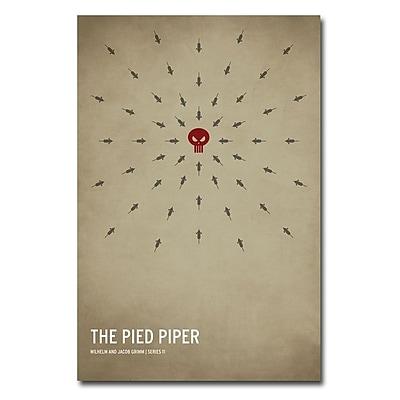 Trademark Fine Art Christian Jackson 'The Pied Piper' Canvas Art 24x36 Inches