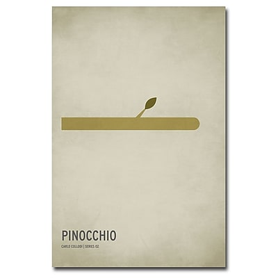 Trademark Fine Art Christian Jackson 'Pinocchio' Canvas Art 24x36 Inches