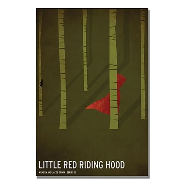 Trademark Fine Art Christian Jackson 'Red Riding Hood' Canvas Art 22x32 Inches