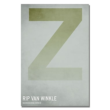 Trademark Fine Art Christian Jackson 'Rip Van Winkle' Canvas Art 22x32 Inches