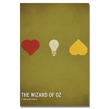 Trademark Fine Art Christian Jackson 'Wizard of Oz' Canvas Art 24x36 Inches