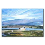 Trademark Fine Art Inverness Sky by Colleen Proppe-Canvas Ready to Hang