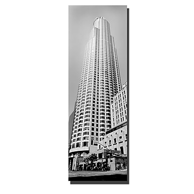 Trademark Fine Art Los Angeles by Preston-Ready to Hang Art 16x48 Inches
