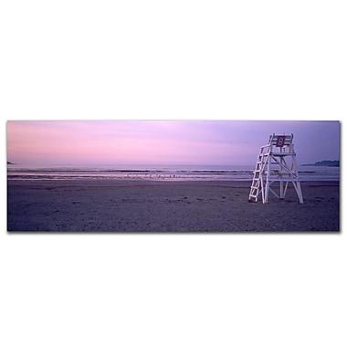 Trademark Fine Art Beach Chair by Preston-Ready to Hang Art