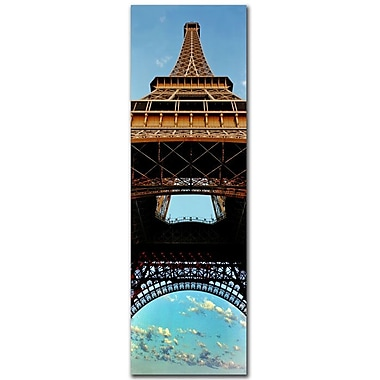 Trademark Fine Art Tour de Eifle I'-Ready to Hang Art 10x32 Inches