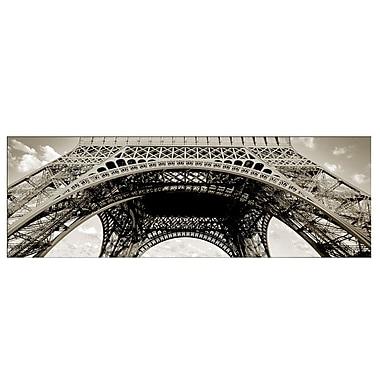 Trademark Fine Art Tour de Eifle III-Ready to Hang Canvas Art 8x24 Inches