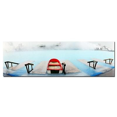 Trademark Fine Art Preston 'Iceland' Canvas Art 8x24 Inches