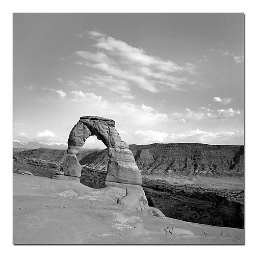 Trademark Fine Art Moab by Preston-18x18 Ready to Hang Art 18x18 Inches