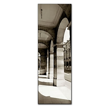 Trademark Fine Art Parisian Archway by Preston-Canvas Art Ready to Hang 12x32 Inches