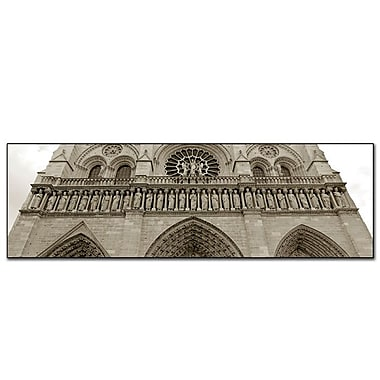 Trademark Fine Art Notre Dame by Preston-Canvas Art 16x47 Inches