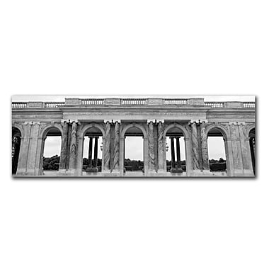 Trademark Fine Art Palace des Versailles by Preston-Ready to Hang 12x32 Inches
