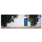 Trademark Fine Art La Puerta Azul Spain by Prestonl Canvas Art