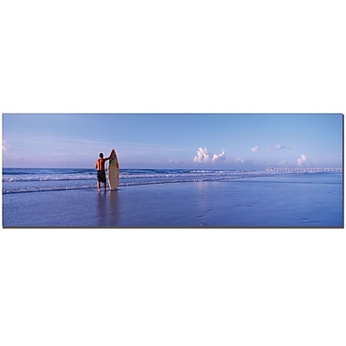Trademark Fine Art Surfer by Preston-Ready to Hang Art 14x47 Inches