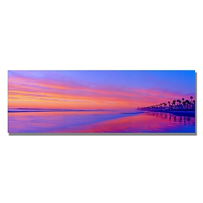 Trademark Fine Art Preston 'Converging Artistry' Canvas Art 12x32 Inches