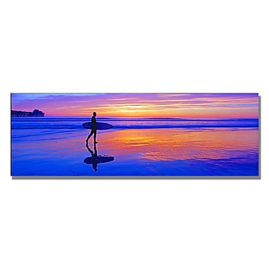 Trademark Fine Art Preston 'Going Home' Canvas Art 16x47 Inches