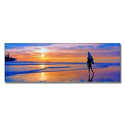 Trademark Fine Art Preston 'Good Day' Canvas Art 16x47 Inches