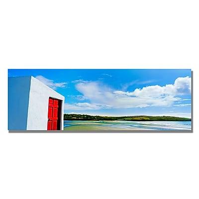 Trademark Fine Art Preston 'Ireland Door' Canvas Art 16x47 Inches