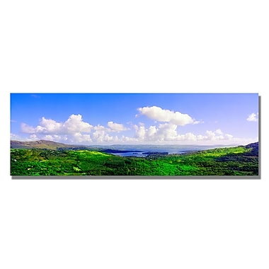 Trademark Fine Art Preston 'Irish Morning' Canvas Art 12x32 Inches