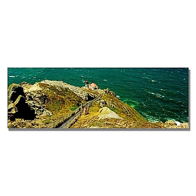 Trademark Fine Art Preston 'Lighthouse' Canvas Art