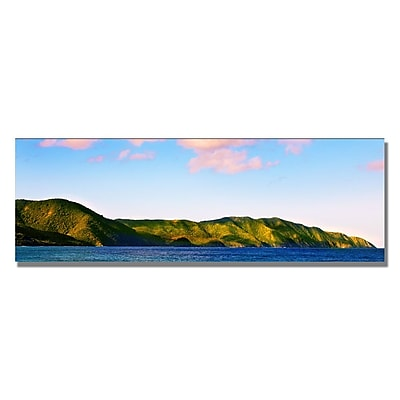 Trademark Fine Art Preston 'St. Croix Sunrise' Canvas Art 12x32 Inches