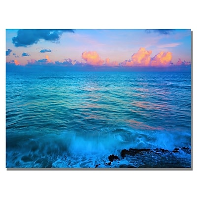Trademark Fine Art Preston 'St. Marten's Sunset' Canvas Art 18x24 Inches