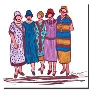 Trademark Fine Art Garner Lewis 'The Reunion' Canvas Art