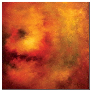 Trademark Fine Art Rickey Lewis 'Creation's Dawn' Canvas Art