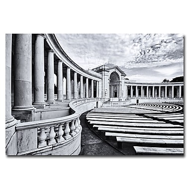Trademark Fine Art Gregory Ohanlon 'Capitol Reflections II' Canvas Art
