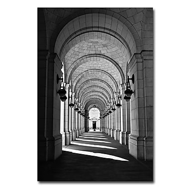 Trademark Fine Art Gregory Ohanlon 'Lincoln Memorial' Canvas Art