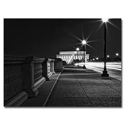 Trademark Fine Art 'Lincoln Memorial' 24