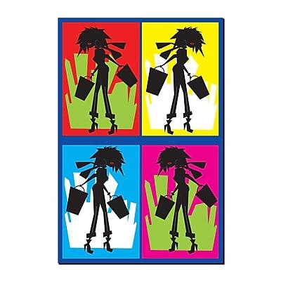 Trademark Fine Art Shopaholic by Grace Riley-Gallery Wrapped Canvas Art