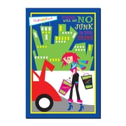 Trademark Fine Art No Junk in the Trunk by Grace Riley-Gallery Wrapped
