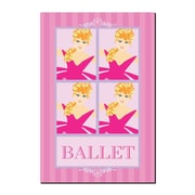 Trademark Fine Art Ballet in Pink II by Grace Riely-Gallery Wrapped