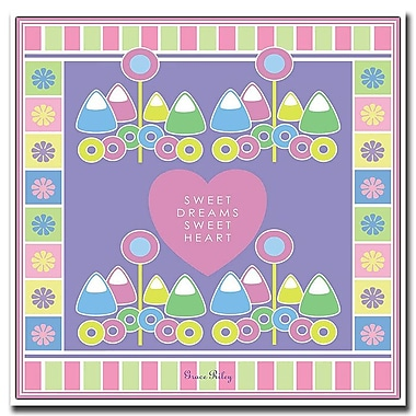 Trademark Fine Art Sweet Dreams Sweet Heart-Girl by Grace Riley-Canvas Art 24x24 Inches