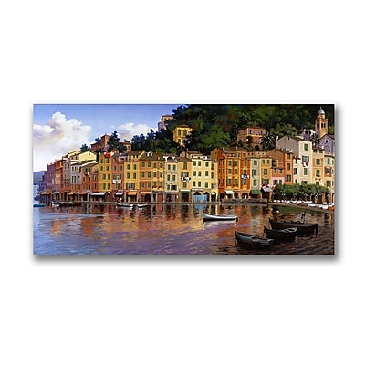 Trademark Fine Art Portofino by Hava. Canvas Giclee